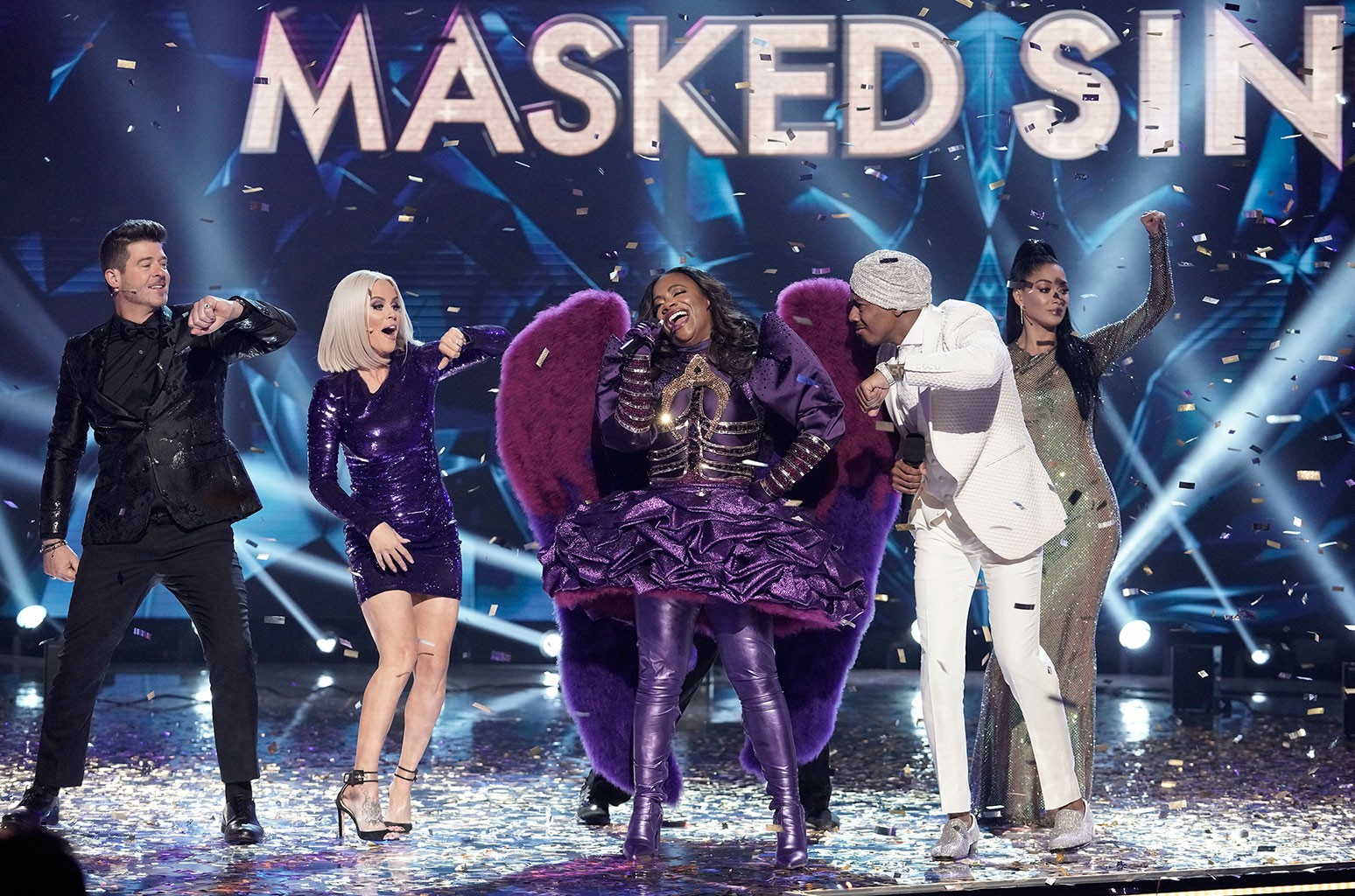 'The Masked Singer' Recap: Night Angel Scrubs the Competition, Wins Season 3