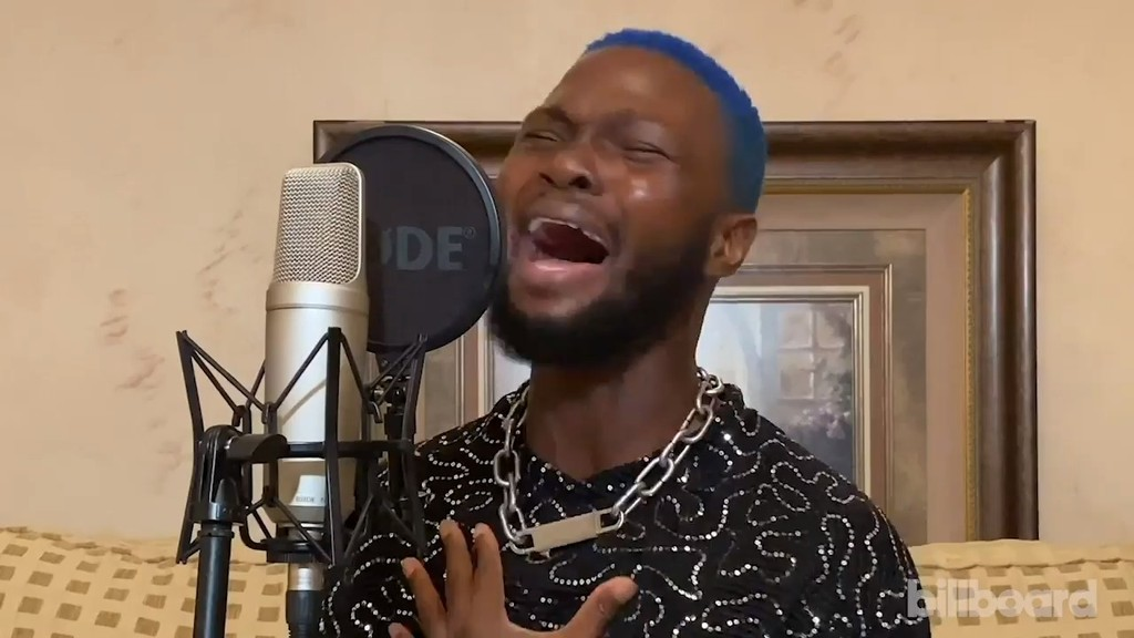 Electro-Fusion Star WurlD Helps Fans 'Feel Right' with Soulful Billboard Live At-Home Performance