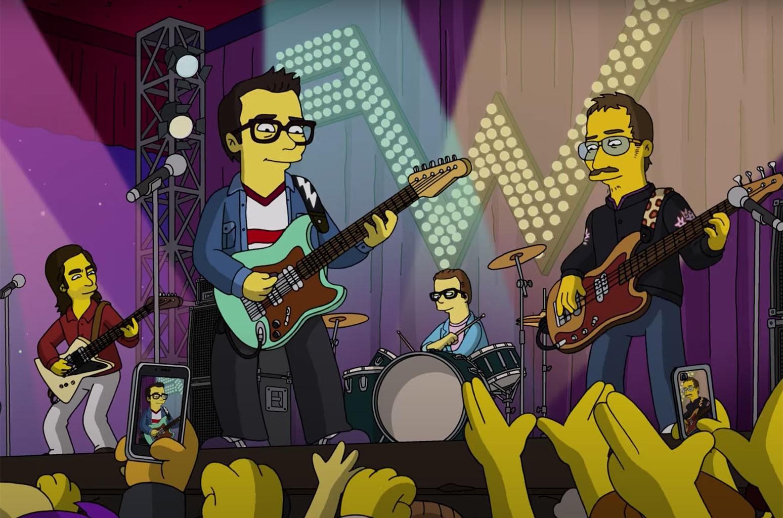 Weezer The Simpsons
