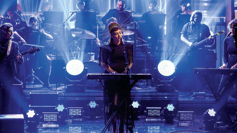 <p>Angel Olsen, who performed on The Tonight Show Starring Jimmy Fallon in 2019, has been nominated for album of the year.</p>