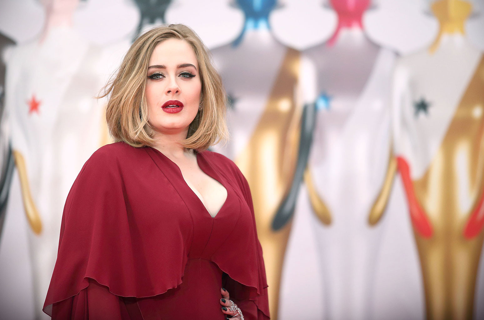 Adele Shows Off A New Look On Instagram Billboard