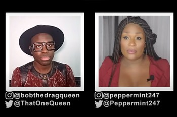 Bob the Drag Queen & Peppermint Get Real on Why Saying 'Black Lives Matter' Is Important