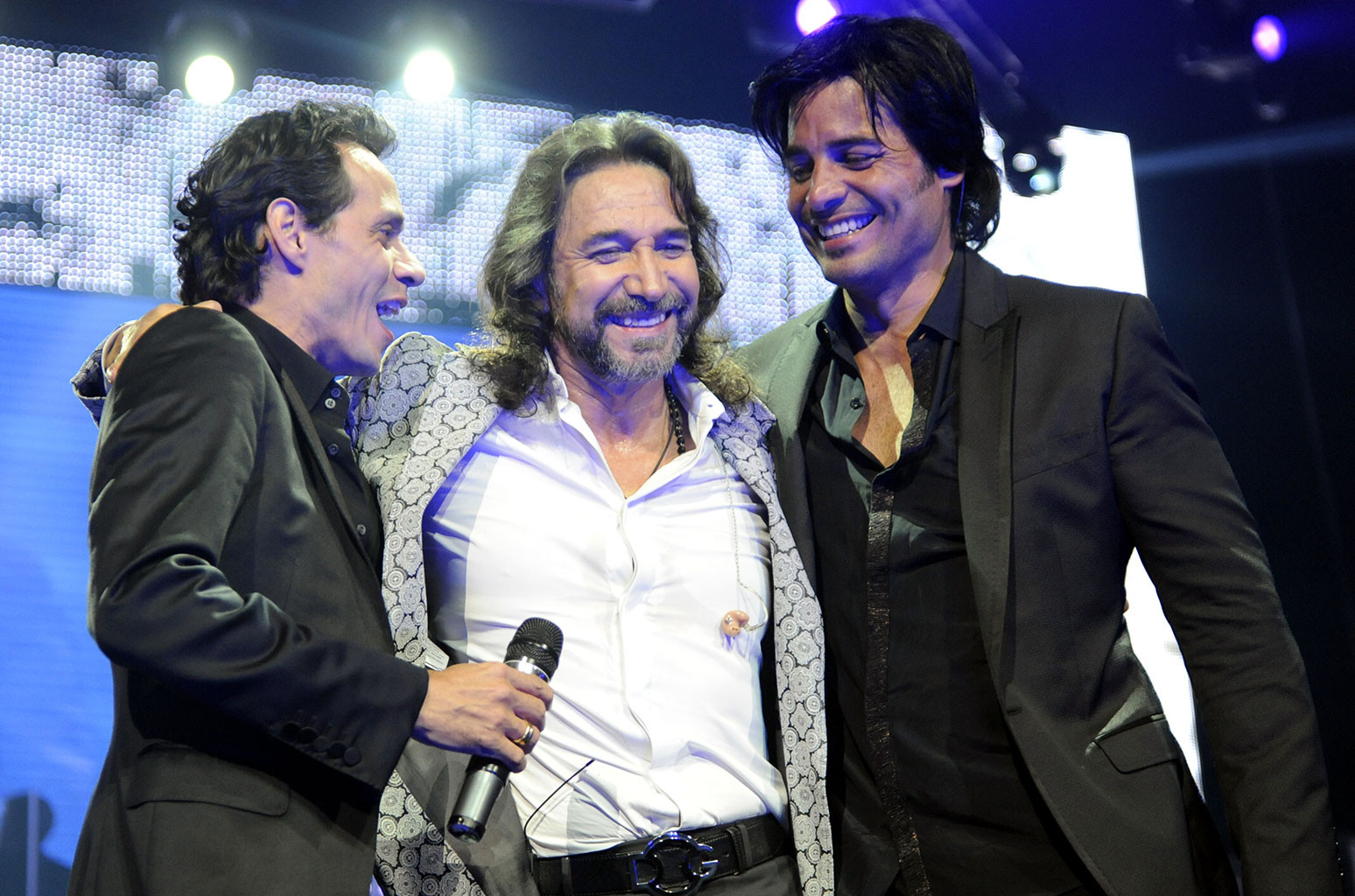 Marc Anthony, Marco Antonio Solis, and Chayanne