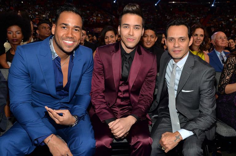 Romeo Santos, Prince Royce, and Marc Anthony