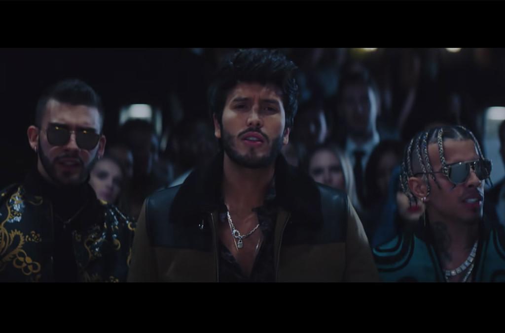 'TBT' Lands at No. 1 on Latin Rhythm Airplay Chart For Sebastian Yatra, Rauw Alejandro & Manuel Turizo