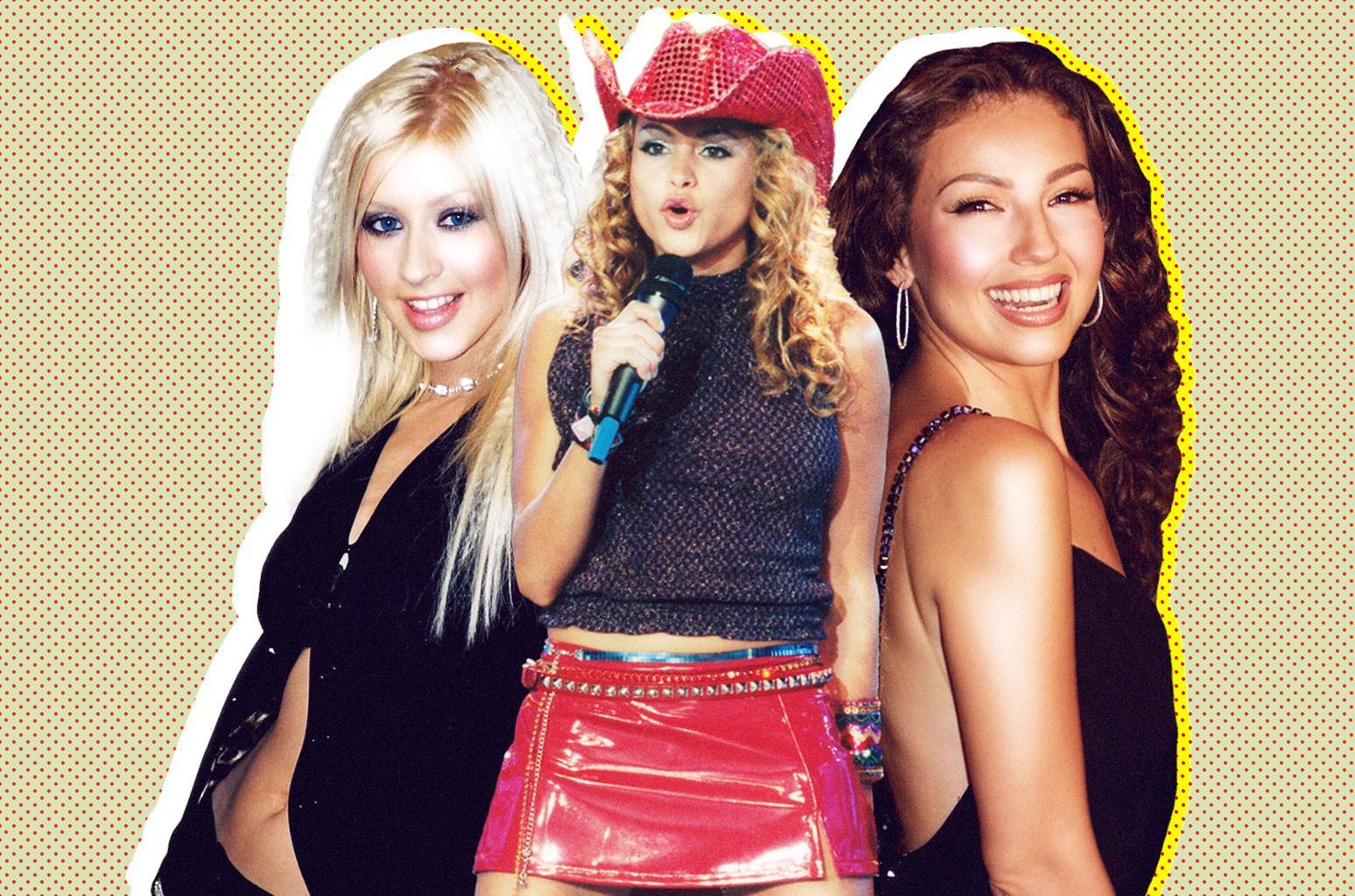 Christina Aguilera, Paulina Rubio, Thalia