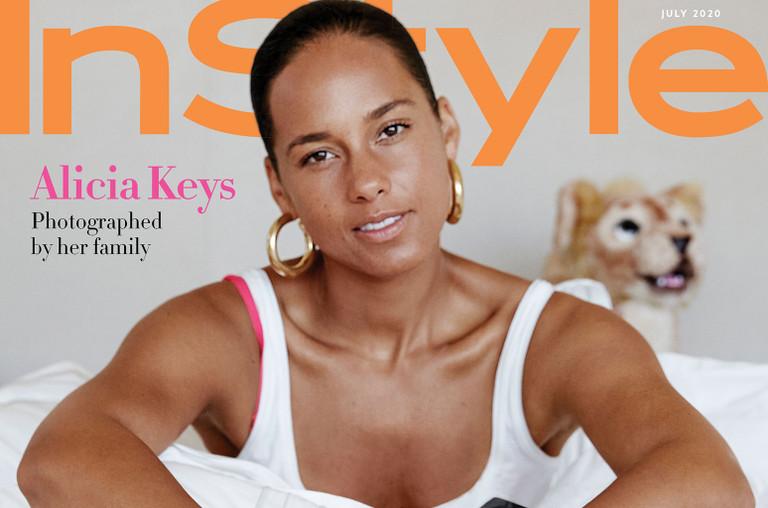 Alicia Keys InStyle.