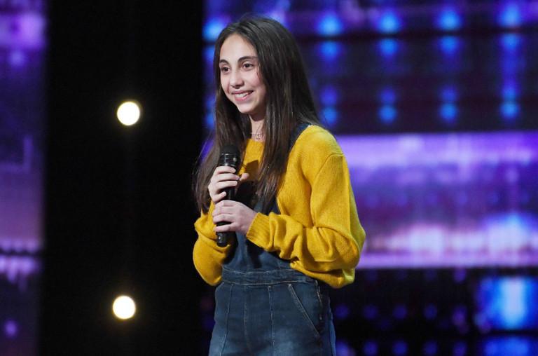 Ashley Marina on America's Got Talent