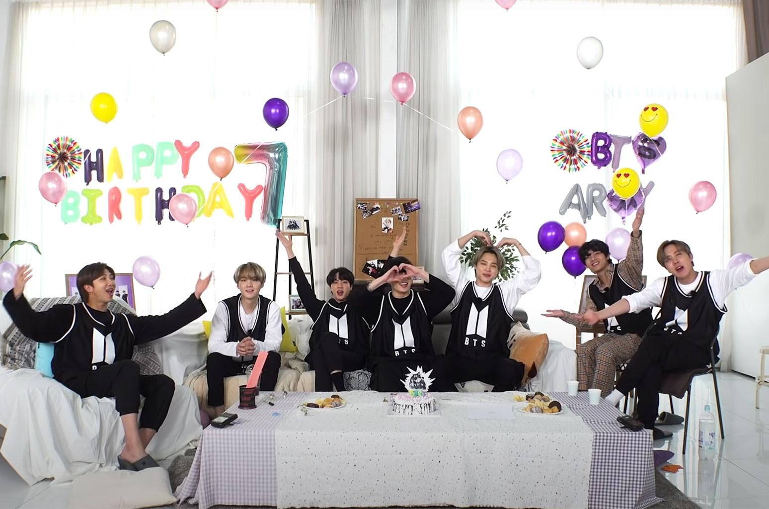 Watch Bts Recreate Their First Birthday Party In New Festa 2020 Teaser Billboard