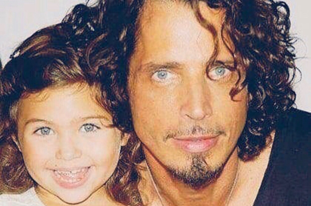 Chris Cornell and daughter Toni