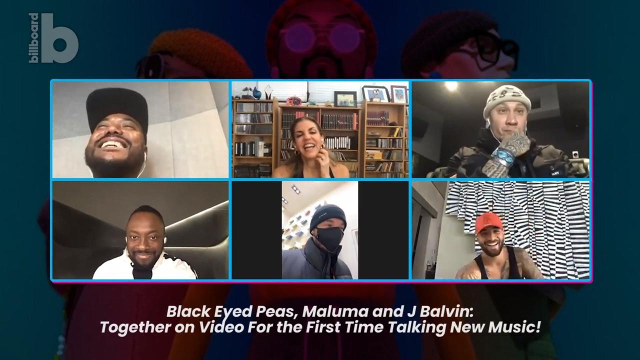 Maluma, J Balvin Talk Working With the Black Eyed Peas: Watch ...