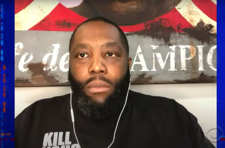 Killer Mike The Late Show with Stephen Colbert.
