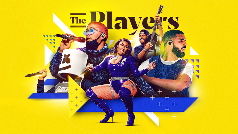 <p>Music stars on indie labels include (from left) Marshmello, Bad Bunny, Megan Thee Stallion, Thomas Rhett and Drake.</p>