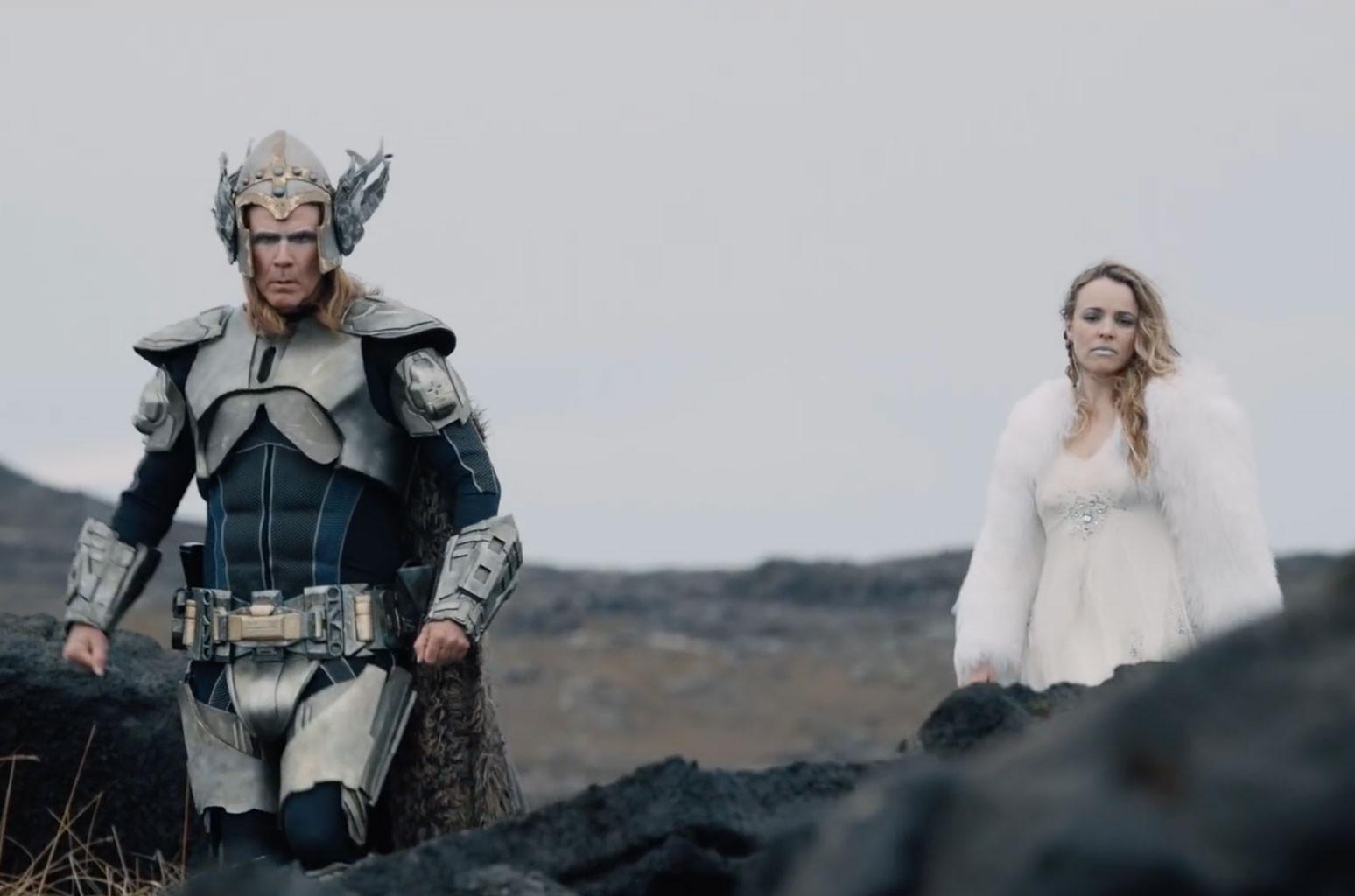 Will Ferrell and Rachel McAdams