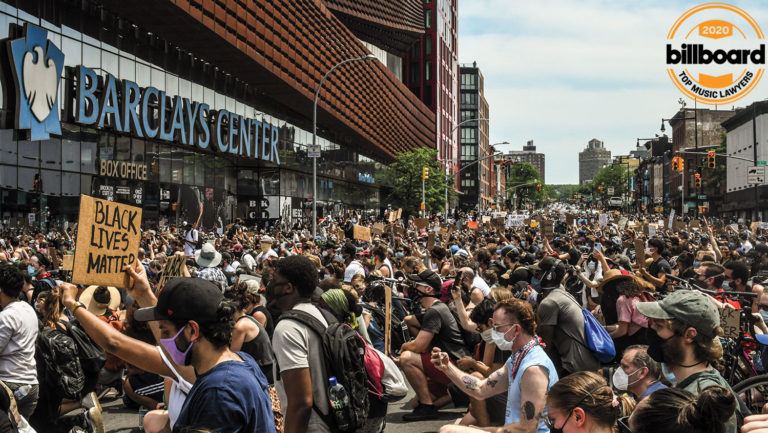 <p>Attorneys responded to the pandemic, which closed concert venues like Brooklyn's Barclays Center, then counseled clients during protests that followed the death of George Floyd.</p>