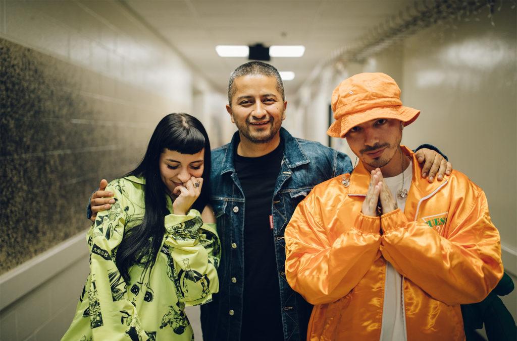 Cazzu, Fabio Acosta and J Balvin