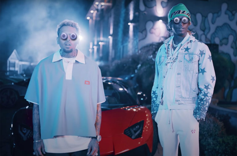 "Chris Brown and Young Thug, ""Go Crazy"""