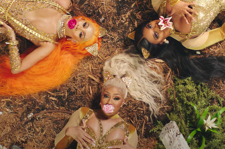 "City Girls Doja Cat, ""Pussy Talk"""