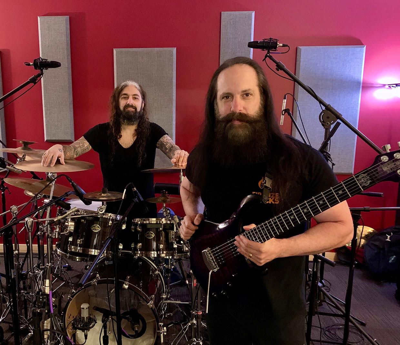 John Petrucci Mike Portnoy