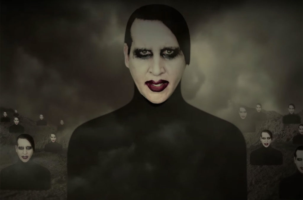 """Marilyn Manson, """"WE ARE CHAOS"""""""