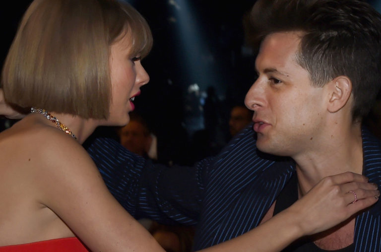 Taylor Swift and Mark Ronson