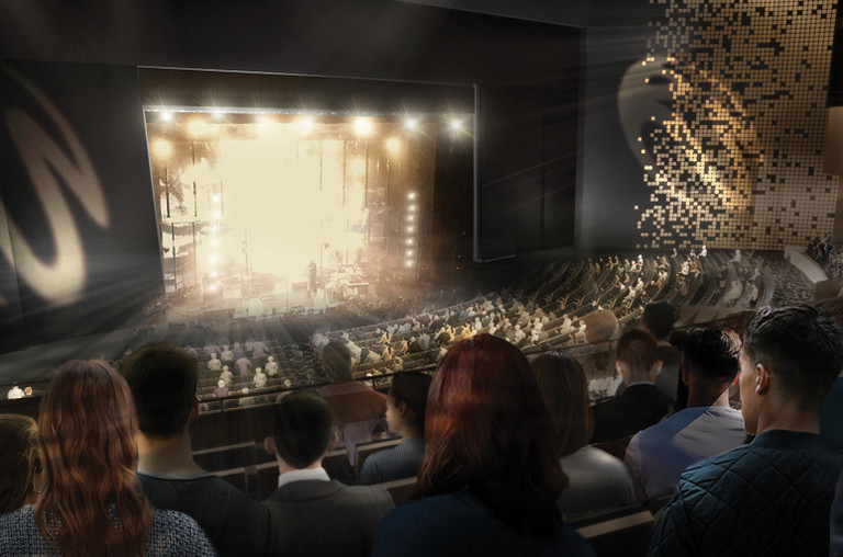 The Theatre at Resorts World Las Vegas