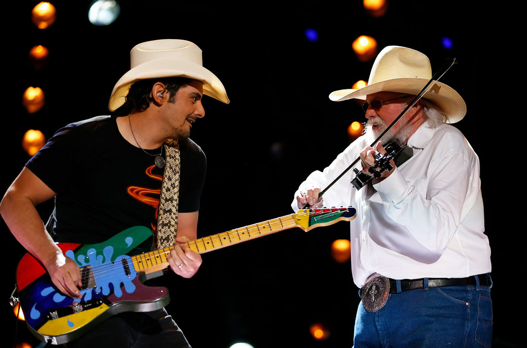 Brad Paisley on Charlie Daniels: 'He Was Going Into Battle When He Played & You Would Follow Him Anywhere'