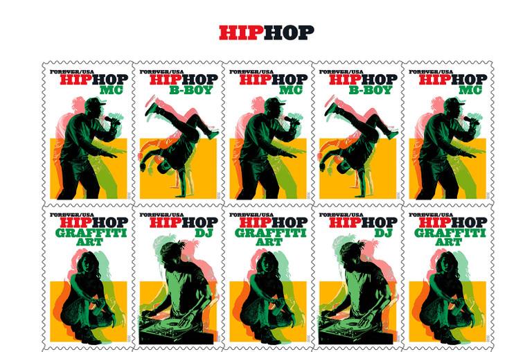 USPS Hip-Hop Stamp