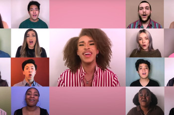 Watch This Virtual A Capella Choir Reimagine Kelly Clarkson's 'I Dare You'
