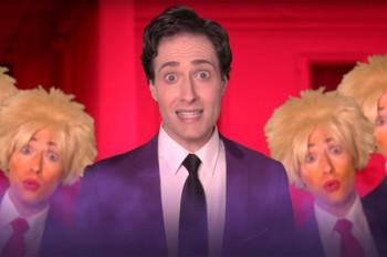 Randy Rainbow Channels 'The Little Mermaid' to Mock Donald Trump in 'Poor Deplorable Troll': Watch
