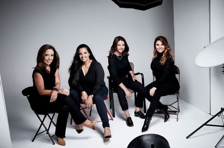 Sheri Morales, Cassie Zebisch, Kelly Staley, Marianne Herman.