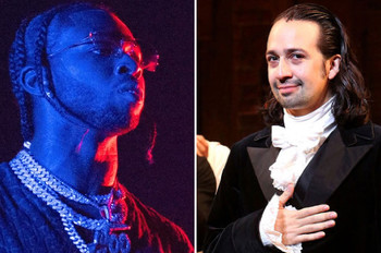 'Hamilton' Hits No. 2 on Billboard 200, Is Highest-Charting Cast Album Since 1969
