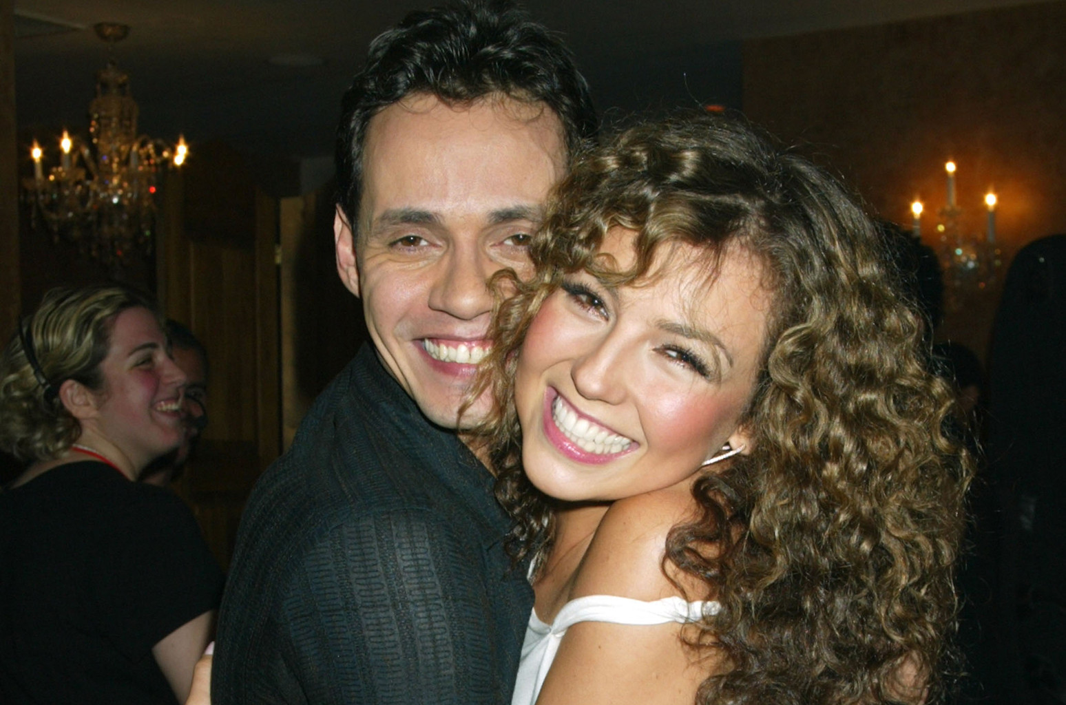 Marc Anthony and Thalia