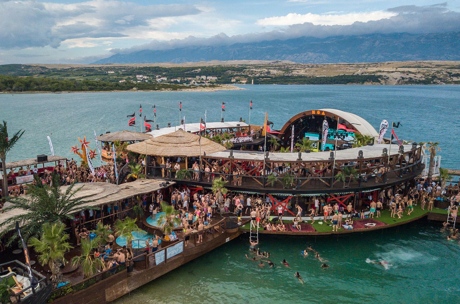 Croatia NOA Beach Club Awake Dropzone Festival