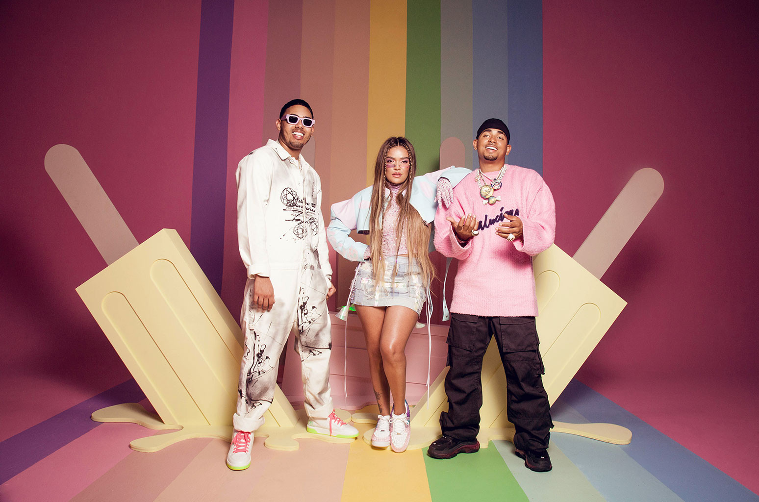 Ozuna, Karol G and Myke Towers