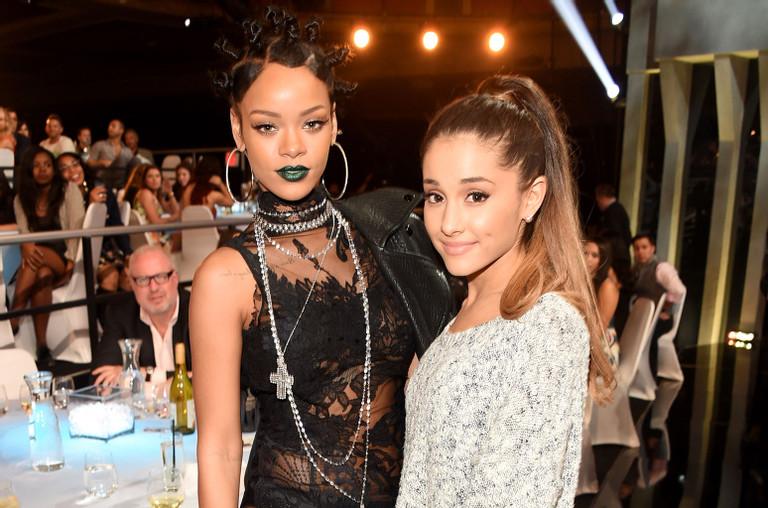 Rihanna and Ariana Grande