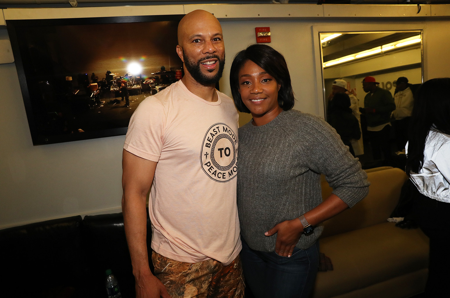 Tiffany Hadish and Common