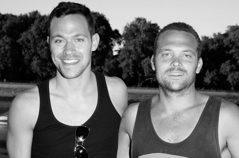 Will Young and Rupert Young