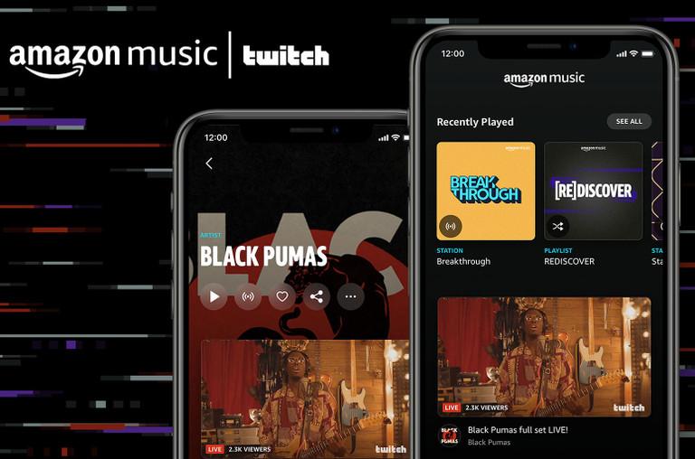 Amazon Music Twitch