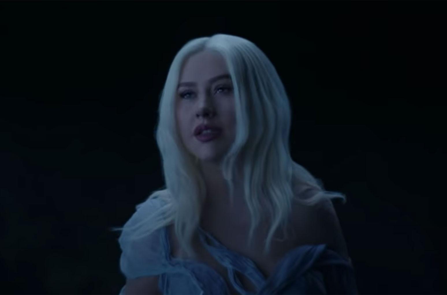 "Christina Aguilera, ""Reflection"""