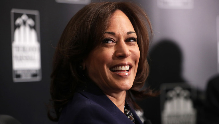 John Legend, Taylor Swift, Cher & More Cheer for Joe Biden's Vice Presidential Candidate Sen. Kamala Harris