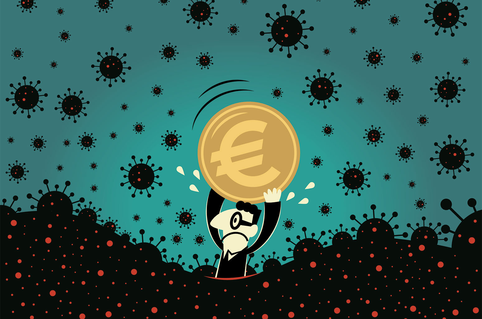 Pandemic financial crisis