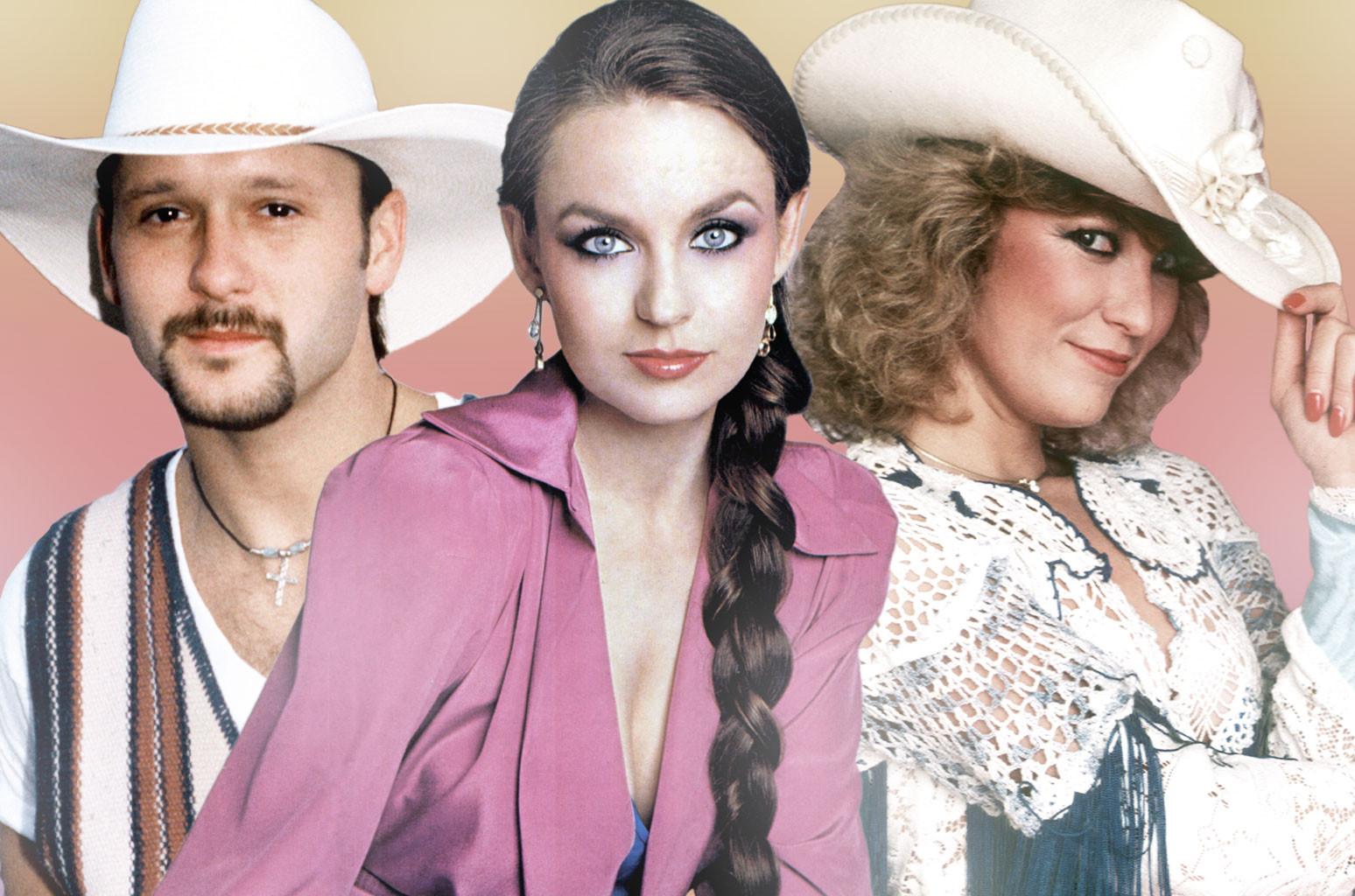 Tim McGraw, Crystal Gayle and Tanya Tucker