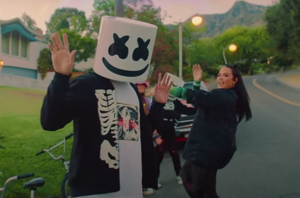 "Marshmello & Demi Lovato, ""OK Not To Be OK"""
