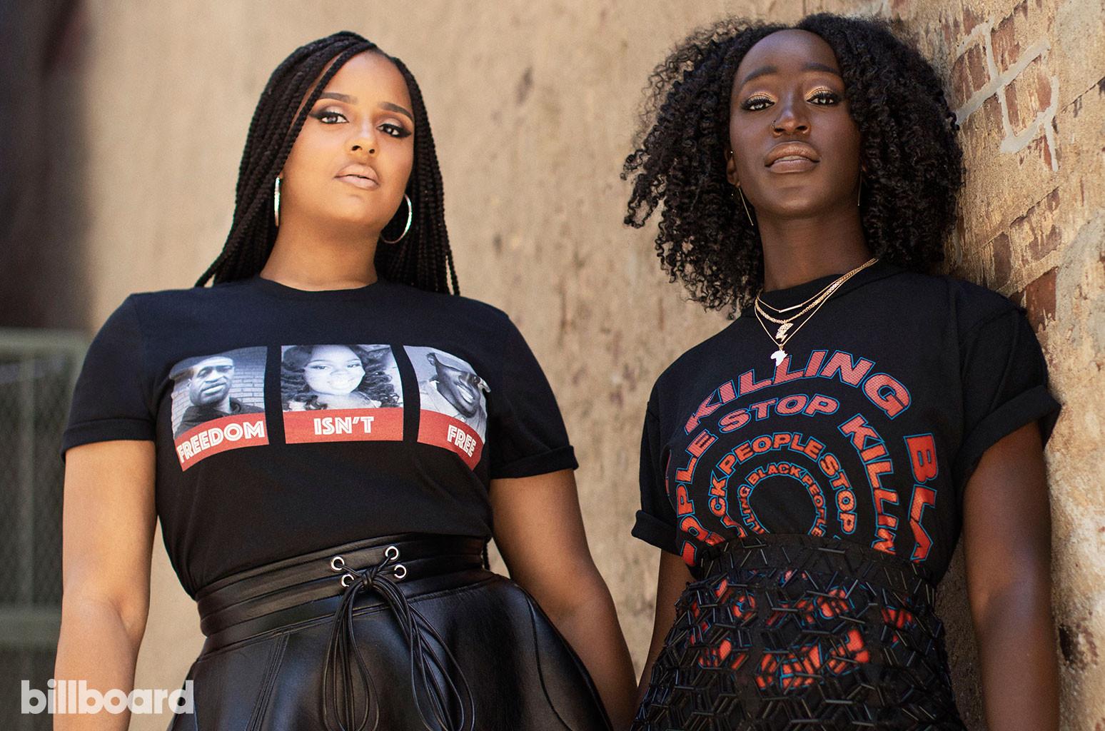 Jamila Thomas and Brianna Agyemang