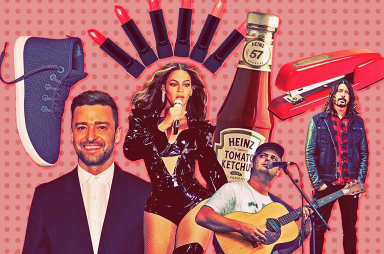 Justin Timberlake, Beyoncé, Mac DeMarco, Dave Grohl