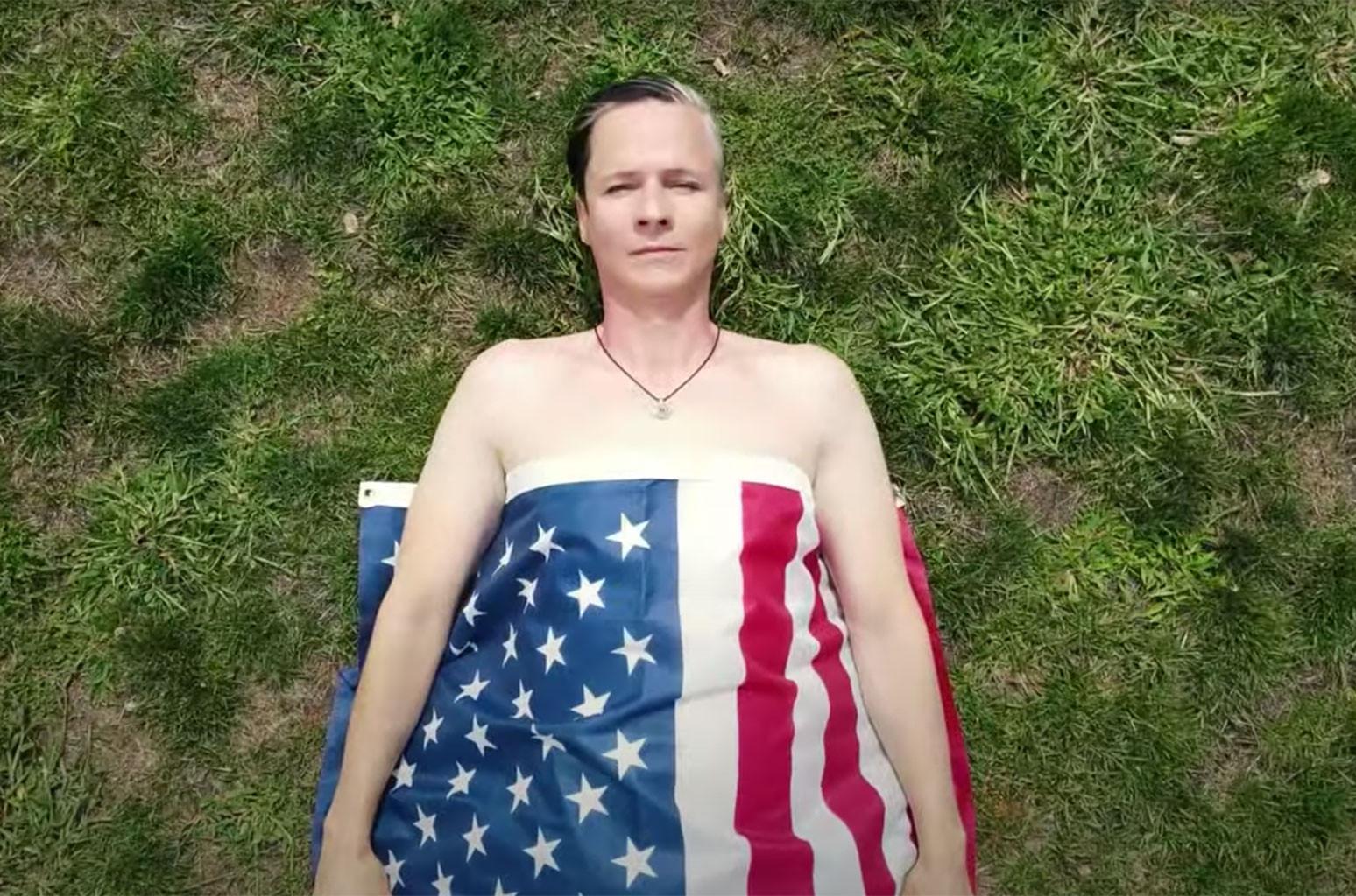 "John Cameron Mitchell and Justin Craig feat. Amber Martin, ""NEW AMERICAN DREAM"""