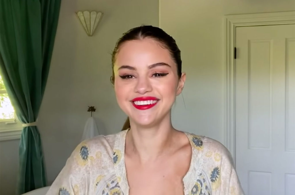 Selena Gomez Shows Off Which Rare Beauty Lip Souffle She Wore In The Ice Cream Music Video Latest News Post