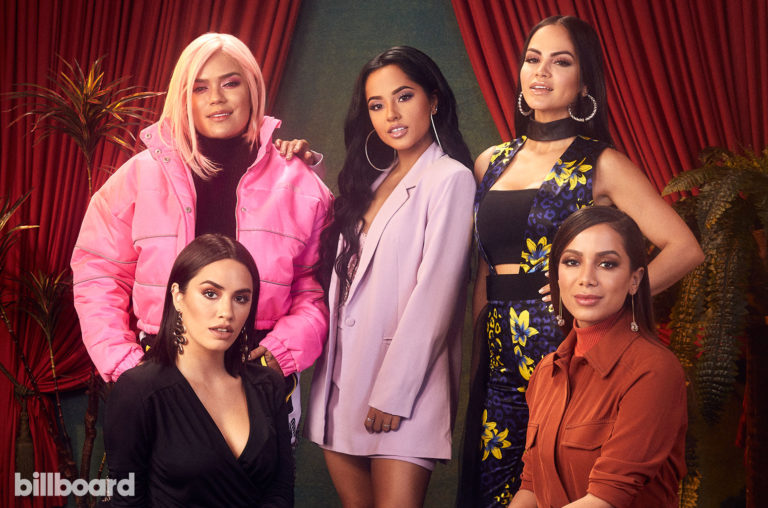 Karol G, Becky G, Natti Natasha, Lali, Anitta.