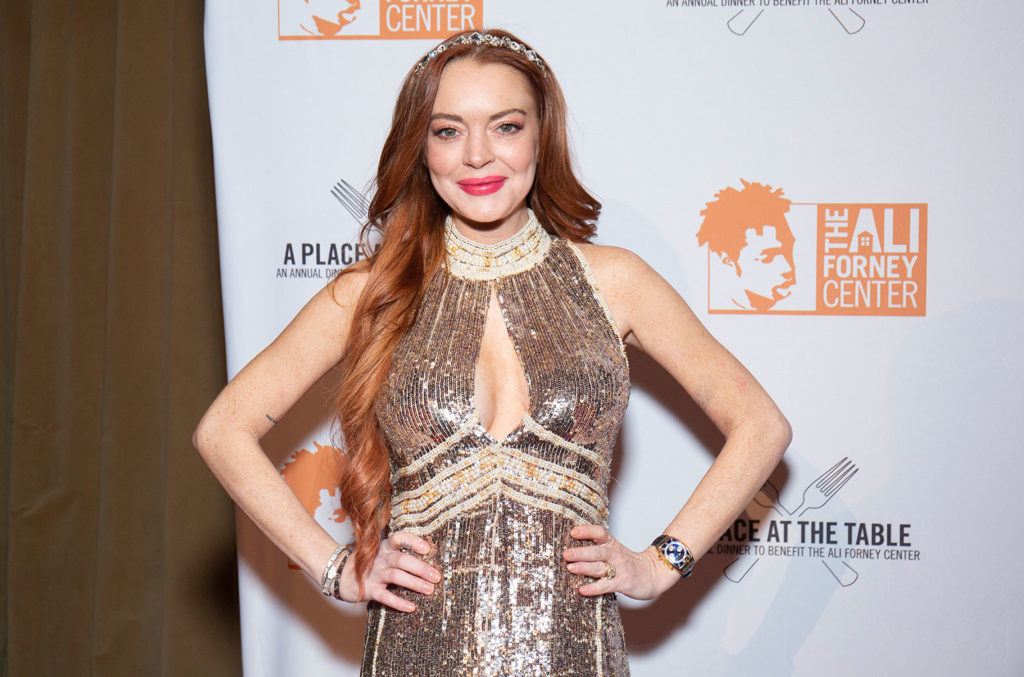 Lindsay Lohan Launches Her New Single 'Lullaby' as NFT Auction